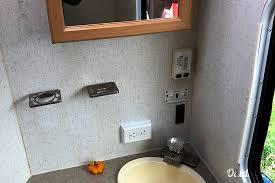 Bathroom Rentals Classy 48 RVision Trail Lite Motor Home Class C Rental In Tacoma WA
