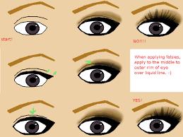 diffe kinds gyaru eye make up