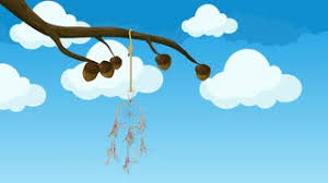 Animated Dream Catcher Animated Dreamcatcher Hanging From a Tree Branch Moving in the 44