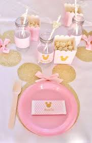 minnie mouse diy decorations for first birthday best ideas on lollipop centerpiece table