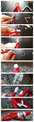 photo tutorial for ing the elf on the shelf to make it posable