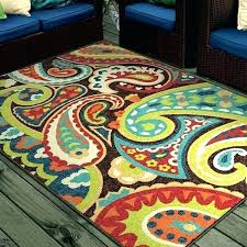 color block area rug texture and thresholdtm delectably transitions collection