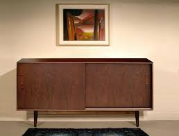 Kitchen Dresser 54 Inch Walnut Mid Century Modern Kitchen Dresser Wd 3461