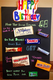 handmade birthday gift ideas these birthday candy poster ideas are so easy to make