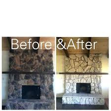 paint stone fireplace redo stone fireplace google search stone redo stone fireplace google search painting stone paint stone fireplace