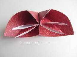 How To Make Flower With Paper Folding Easy Origami Kusudama Flower Folding Instructions