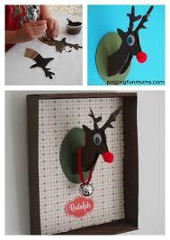 reindeer craft using a shoe