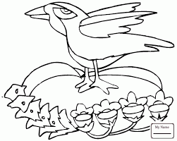 Small Picture Common Raven ravens birds ravens coloring pages for kids