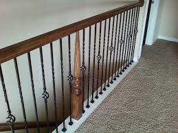 Image of: Stair Spindles Iron