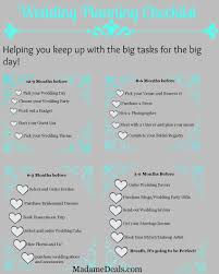Free Wedding Planning Checklist Template - April.onthemarch.co