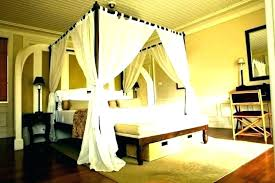 Sheer Curtains For My Canopy Bed Drapes Beds Panels With Bedrooms ...