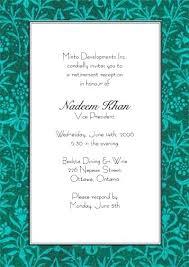 Retirement Luncheon Invitation Eon Email Template Dailytailgate Com