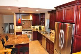 Omega Dynasty Kitchen Cabinets Dynasty Omega Cabinetry Wyatt Door Style Cherry Wood Burgundy