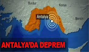 Son Dakika Antalya'da Deprem Şiddeti kaç? Son Depremler Kandilli Rasathanesi