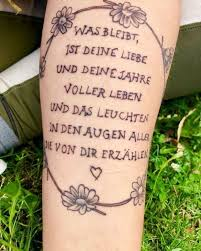 Julia Engelmann Deutsch Tattoo Ideen Trauer Tattoo Tattoo