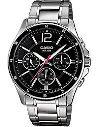 buy watches for men online at low prices in shop sports casio enticer black dial men s watch mtp 1374d 1avdf a832