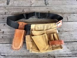 nicholas tool pouch leather belt carpenter pouch leather image