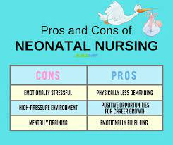 the pros and cons of being a nicu nurse