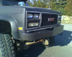 front winch bumpers