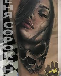 тату мастер женя сорокин из днепра студия Tattoo Mania тату