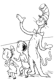 Small Picture Dr Seuss the Cat in the Hat Surprise Sally and her Brother