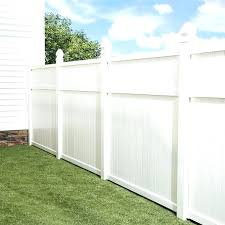 white fence post. Lowes Vinyl Fence Post Panel Shop Gatehouse White Flat Top Privacy . E