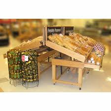 Bakery Display Stands Pastry Display Table Adjustable Wooden Display Stands 36
