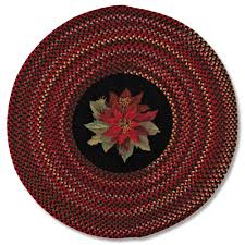 interior wonderful braided round rug country gold jute and blue from braided round rug