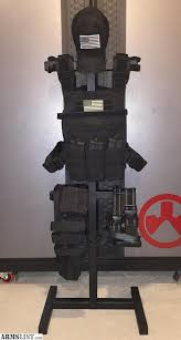 Tactical Gear Display Stand