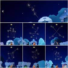 Sky 孤島 星座
