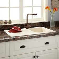 34 Owensboro Drop In Granite Composite Sink With Drain Board