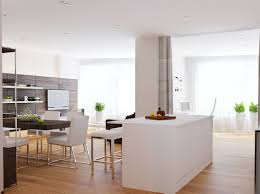 Small Kitchen Diner Walnut White Kitchen Diner Interior Design Ideas