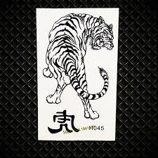 2248 руб 8 скидкагорячие зверь тигр временные татуировки для женщин для мужчин