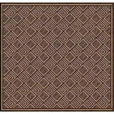 square indoor outdoor rugs dark brown 8 ft x area rug 8x8 wool