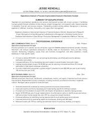 Operations Analyst Resume Eye Grabbing Analyst Resume Samples As