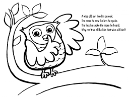 Thanksgiving Owl Coloring Pages Printable Coloring Page For Kids