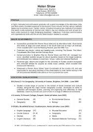 Examples Of Personal Statements For Resumes Personal Summary Resume
