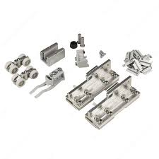 hardware set for sliding glass door and fixed glass panel 100 kg 220 lb richelieu hardware