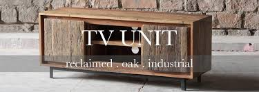 wooden tv cabinet. Ashburnham Reclaimed Wood TV Unit Wooden Tv Cabinet N