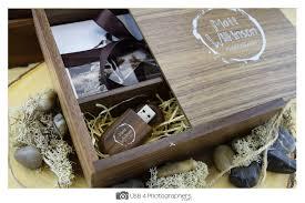 light wooden usb photo box 3