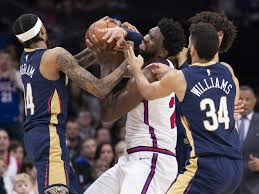 Sixers Depth Chart 2018 19 New Orleans Pelicans Put Up Fight But Fall To More Talented
