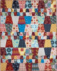 BLOCK Friday: Tumbler Quilts - Fons & Porter - The Quilting Company & Not So Crazy Quilt Pattern Adamdwight.com
