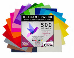 Amazon Com Origami Paper 500 Sheets Premium Quality For Arts