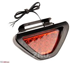 Brake Light Flasher For Car F1 Style Flashing Led Brake Lights Are They Legal Team Bhp