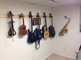 flat wall sax hanger