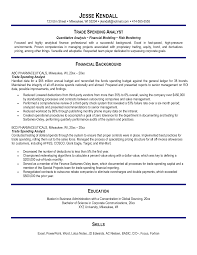 Prop Trader Resume Perfect Resume