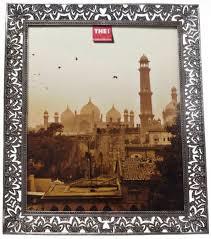 filigree photo frame 20x25 silver