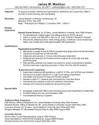 date format on resume james madison university resumes format