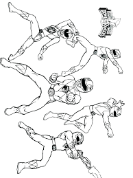 Power Rangers Samurai Coloring Pages To Print Top Free Printable