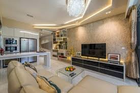concealed lighting ideas. Hillview Avenue (Lanai), Ace Space Design, Modern, Living Room, Condo Concealed Lighting Ideas
